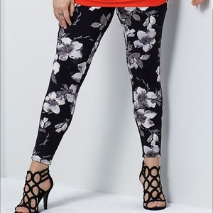 Torrid size 2 insider collection floral leggings